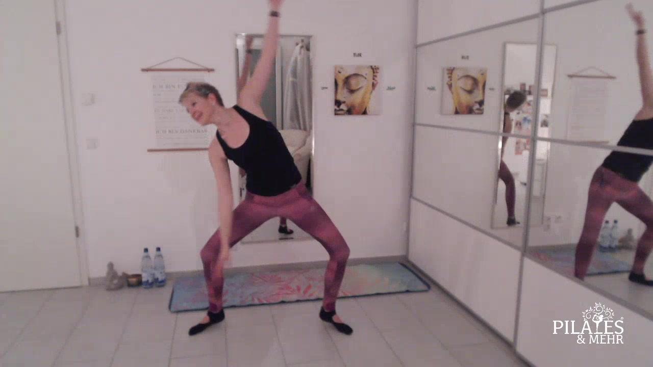 Pilates-Live – Aufnahme vom 26.01.2021